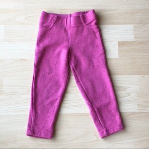 Carter's sparkle jegging -pink